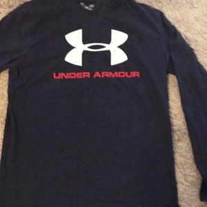 Men's Long Sleeve Under Armour T-shirt/Large